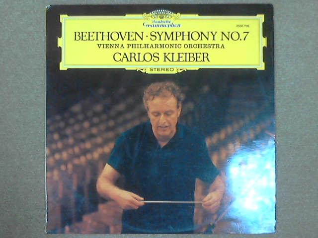 Beethoven: Symphony No.7 in A Major, Op. 92 LP, Carlos Kleiber / Vienna Philharmonic (Orchester) und Ludwig van Beethoven (Komponist); Ludwig van Beethoven [Composer]; Carlos Kleiber [Conductor]; Vienna Philharmonic