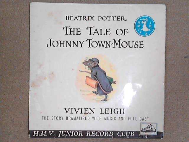 "The Tale Of Johnny Town-Mouse 7"" red vinyl, Beatrix Potter / Vivien Leigh"