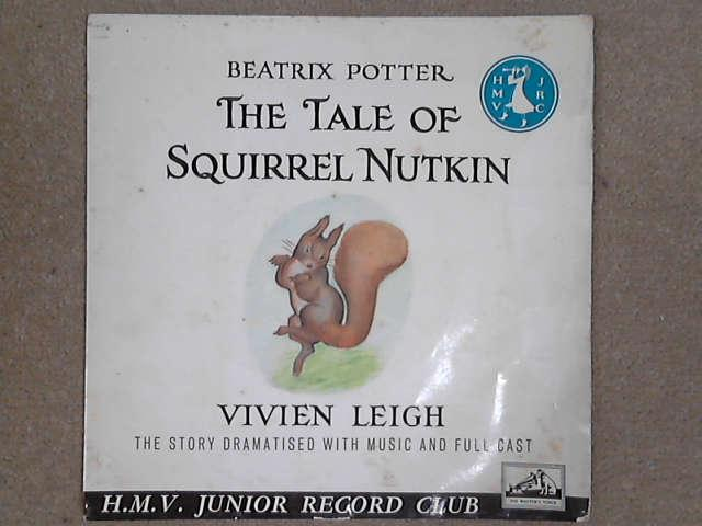 "The Tale Of Squirrel Nutkin 7"" red vinyl, Beatrix Potter / Vivien Leigh"