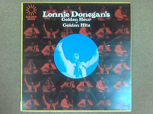 Lonnie Donegan's Golden Hour Of Golden Hits LP, Lonnie Donegan