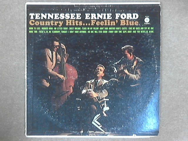 Country Hits...Feelin' Blue LP, Tennessee Ernie Ford