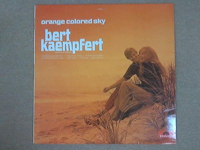 Orange Colored Sky LP, Bert Kaempfert & his Orchestra