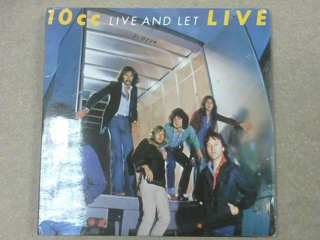 Live And Let Live LP Gat, 10CC