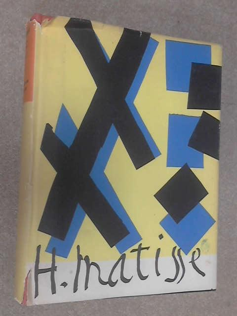 H. Matisse His Art and His Public by Barr