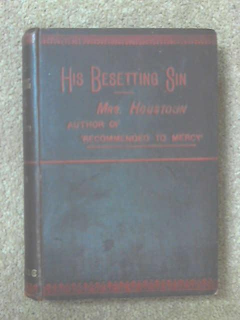 His Besetting Sin Volume II by Mrs Houstoun