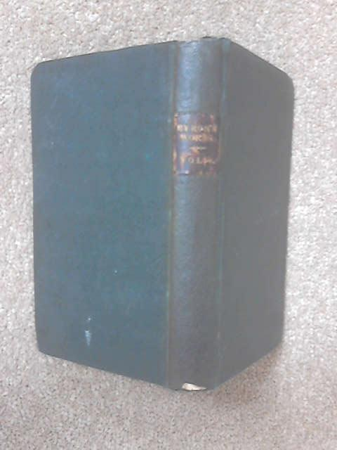 The works of Lord Byron Vol IV