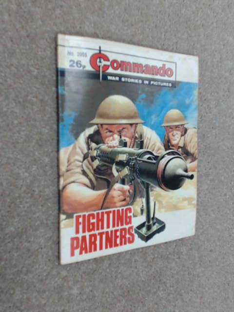 Commando For Action & Adventure Comic Book Magazine #2055 Fighting Partners by Unknown