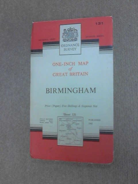 Ordnance Survey Map of Birmingham Sheet 131 by Anon