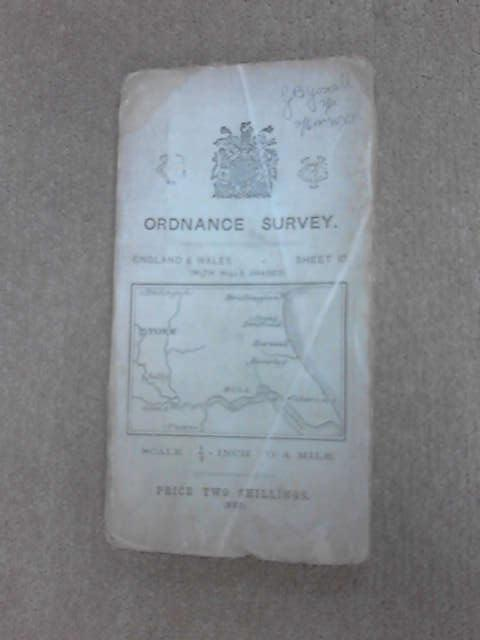 Ordnance Survey Map of England Wales sheet 10 by Anon