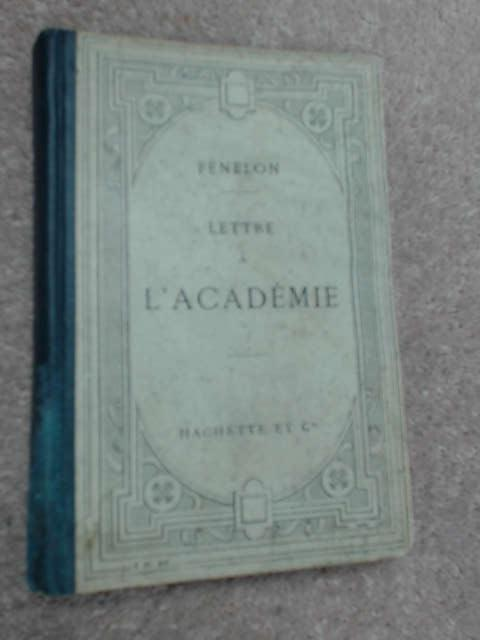 Lettre A L'Acad by Albert Cahen