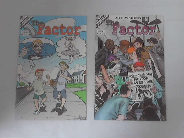 The Factor: Issues 1 & 2 by Nat Gertler & Others
