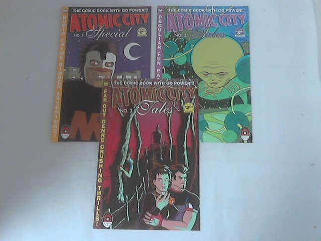 Atomic City: Issues 1, 2 & 3 by Jay Stevens