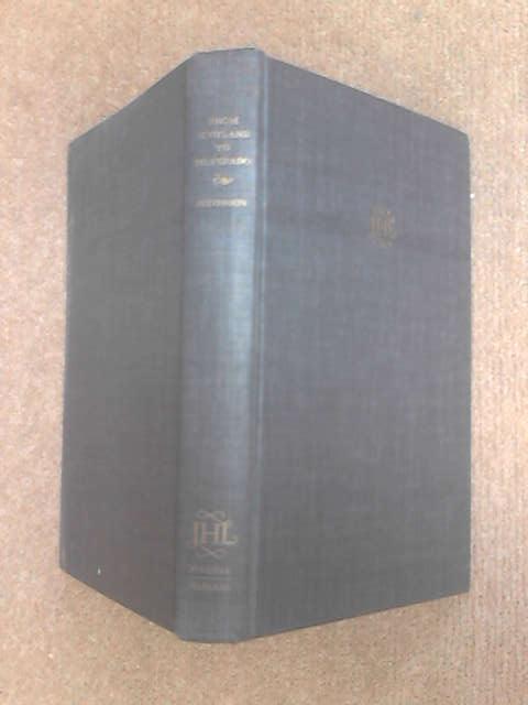 From Scotland to Silverado (John Harvard library) by Stevenson, Robert Louis