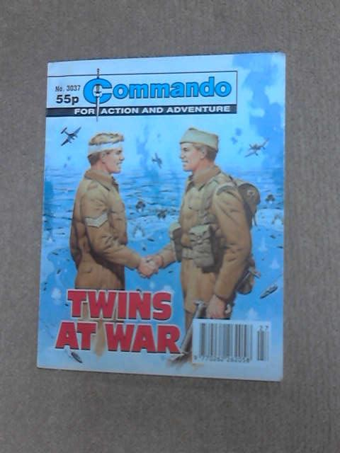 Commando Twins at War no 3037 by Anon