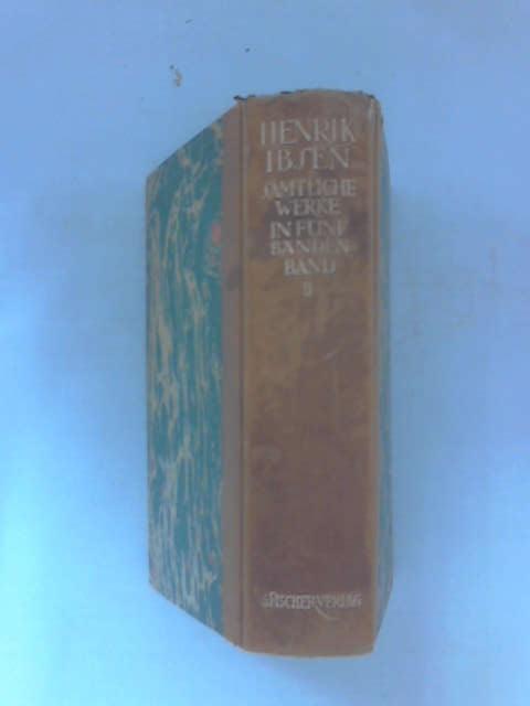 Henrik Ibsen Samtliche Werke, Volume 2