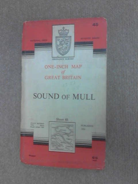 Ordnance Survey map of Sound of Mull by Anon
