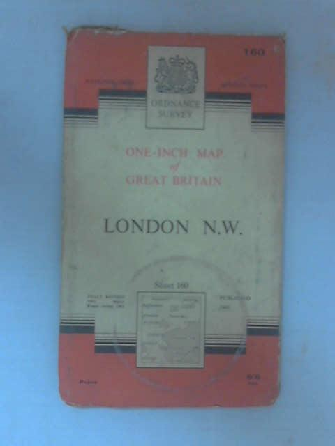 One-Inch Map of London N. W., Sheet 160 by Ordnance Survey