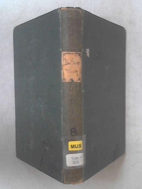 Ludwig van Beethoven's Leben Volume II by A W Thaner