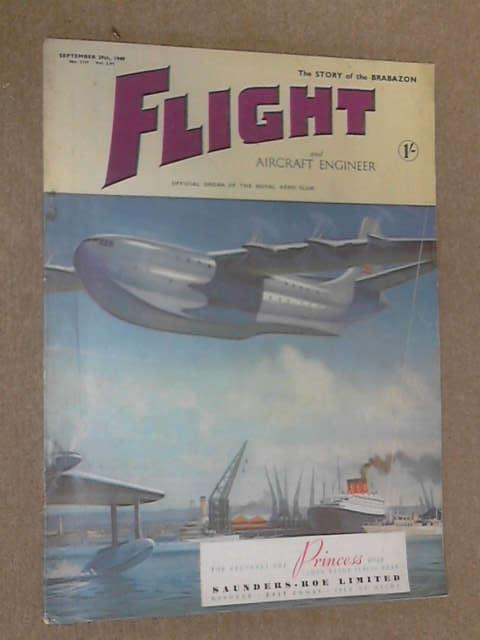 Flight and Aircraft Engineer, September 29th 1949 by Various