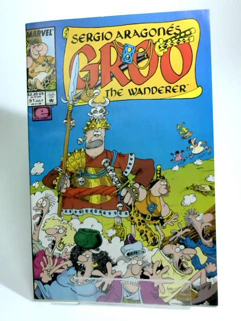 Groo the Wanderer #91 July 1992 by Aragones, sergio