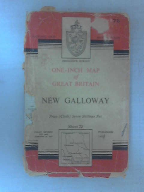 One-Inch Map: New Galloway by Ordnance Survey