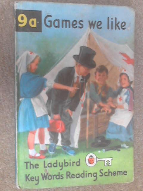Games We Like (Ladybird Key Words Reading Scheme) by Murray, W.