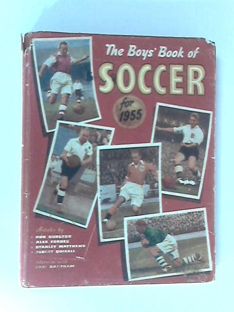 The Boys' Book of Soccer for 1955 by Patrick Pringle