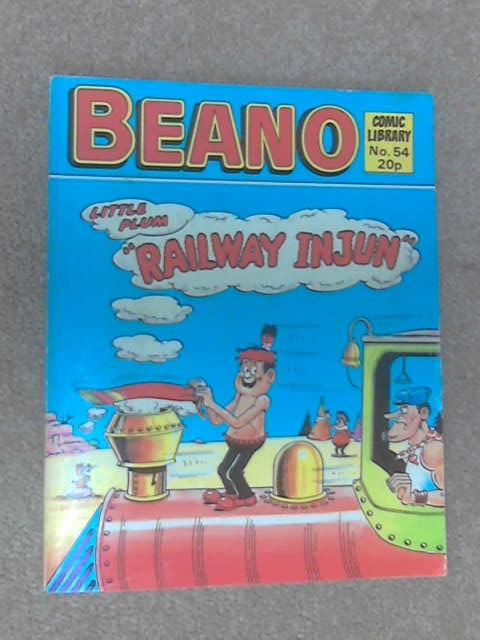 Beano Comic Library Little Plum In Railway Injun by Anon