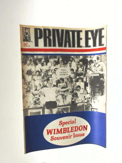 Private eye no. 614 by Unknown