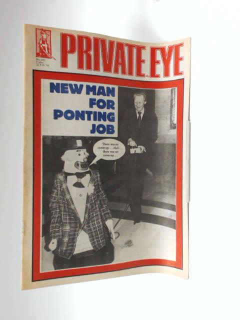 Private eye no. 605 by unknown
