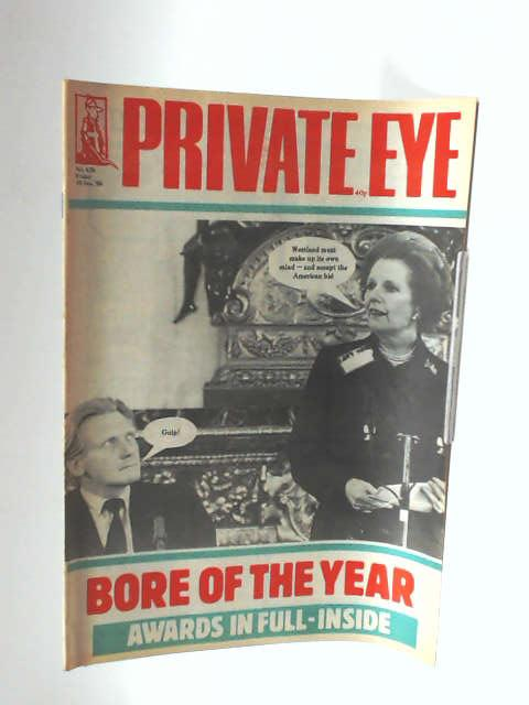 Private Eye no 628 by Unknown