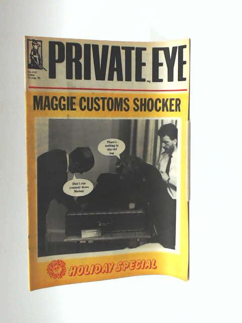 Private eye no. 618 by Unknown