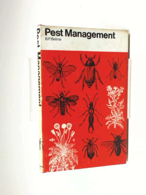 Pest Management by Beirne, B P