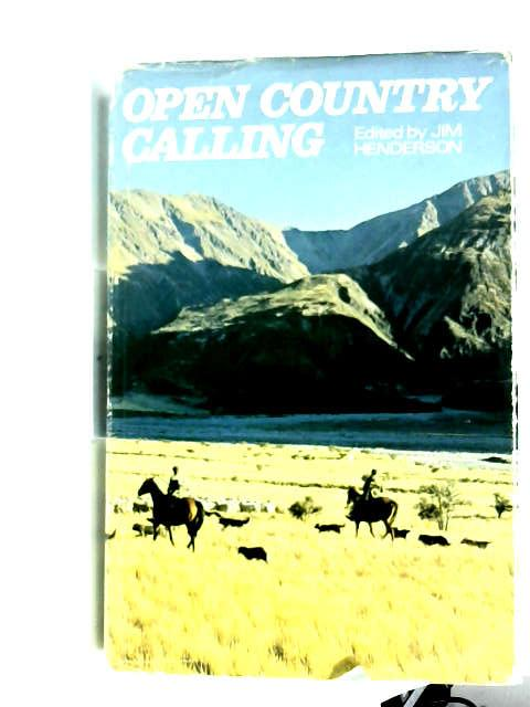 Open country calling: People and places out of town by Jim Henderson
