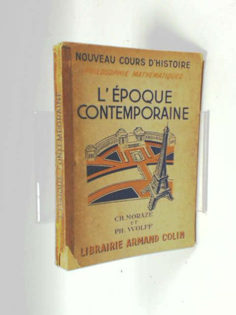 L'epoque contemporaine 1852-1948 by Unknown