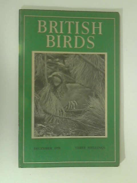British Birds: December 1958 by Various