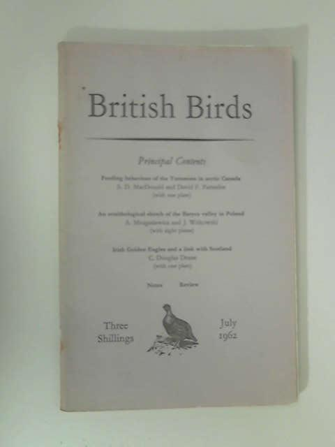British Birds: July 1962 by Various