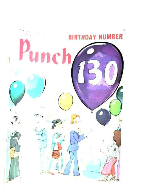 Punch 130 birthday number 14-20 july 1971 by Various