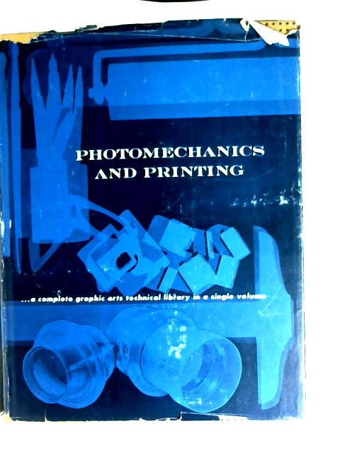 Photomechanics & Printing by J S Mertle