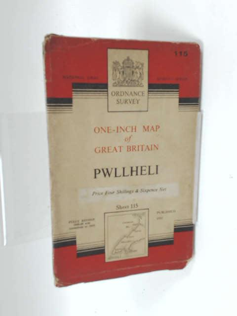 Ordnance Survey One-Inch Map Of Great Britain Pwllheli Sheet 115 by Unknown