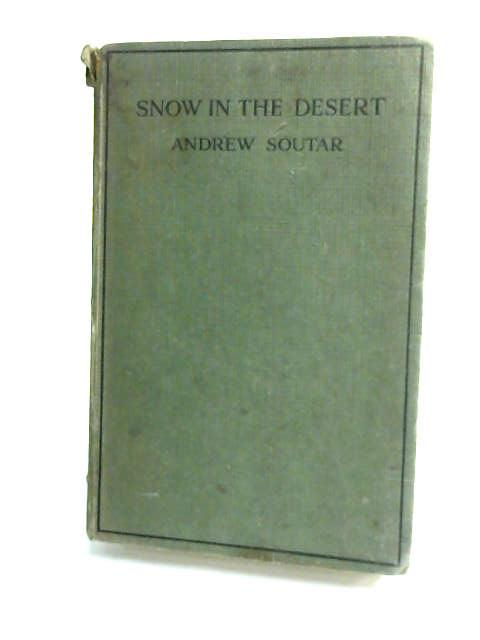 Snow In The Desert by Soutar, Andrew