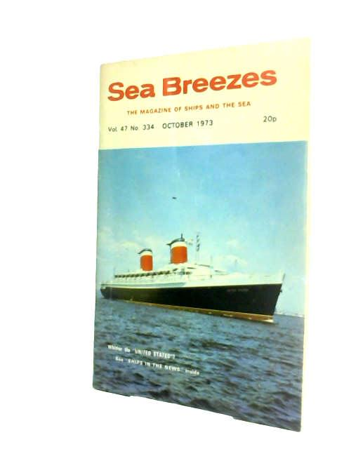 Sea Breezes vol.47 No.334 by Carter (ed.)
