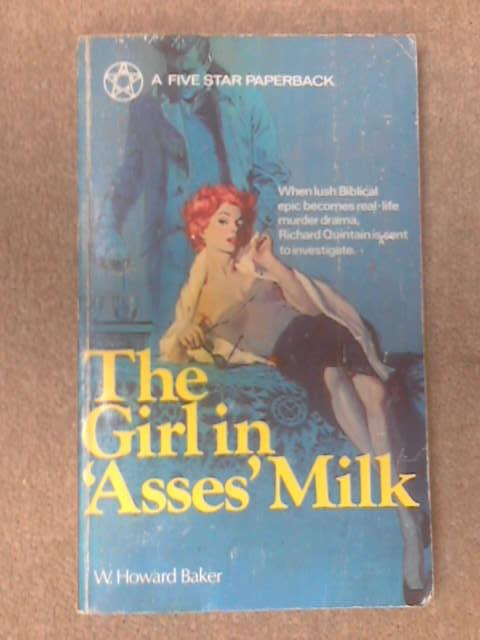 The girl in asses' milk by William Howard Baker