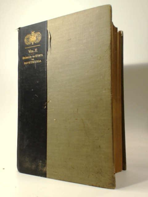 Analytical Cyclopedia of Practical Medicine Vol. II by Sajous
