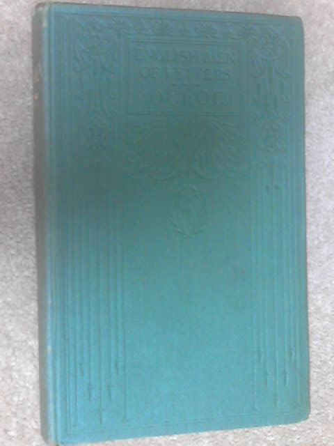 Daniel Defoe (English Men of Letters) by William Minto