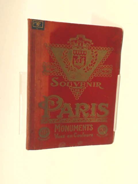 Souvenir De Paris Monuments by Various