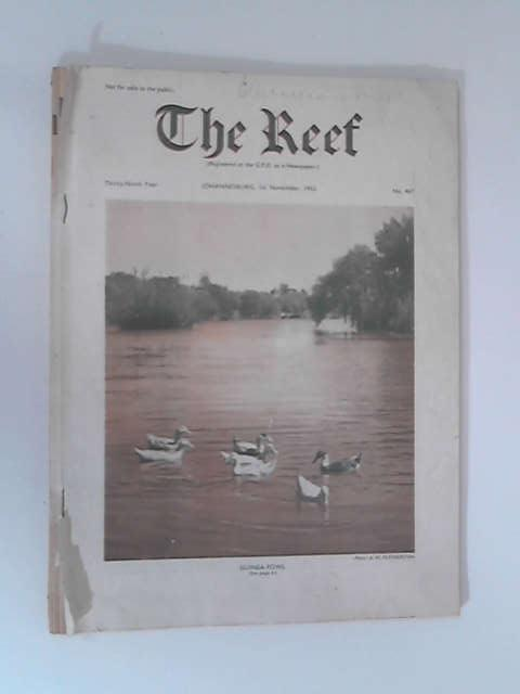 The Reef: 1st November 1953, No. 467 by Various
