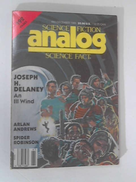 Analog' Science Fiction & Fact: December 1986 by Delaney, Andrews, Robinson