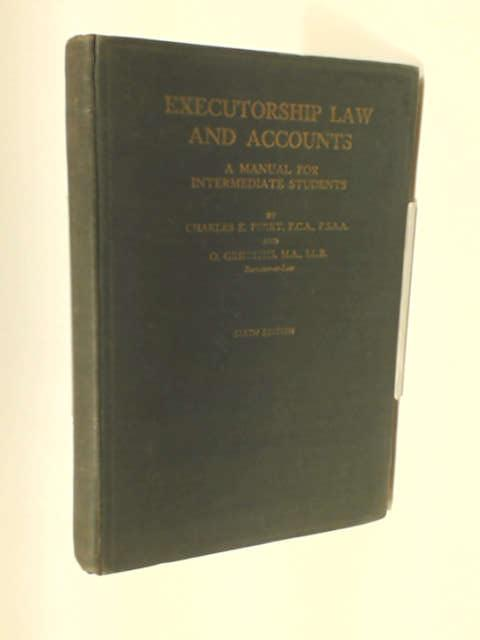 Executorship law and accounts;: Manual for intermediate students by Perry, Charles Eben
