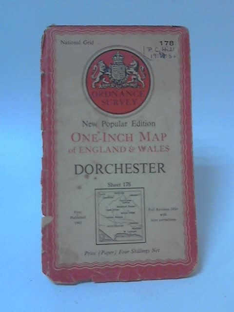 One-Inch Map of England & Wales Sheet 178: Dorchester by Anon